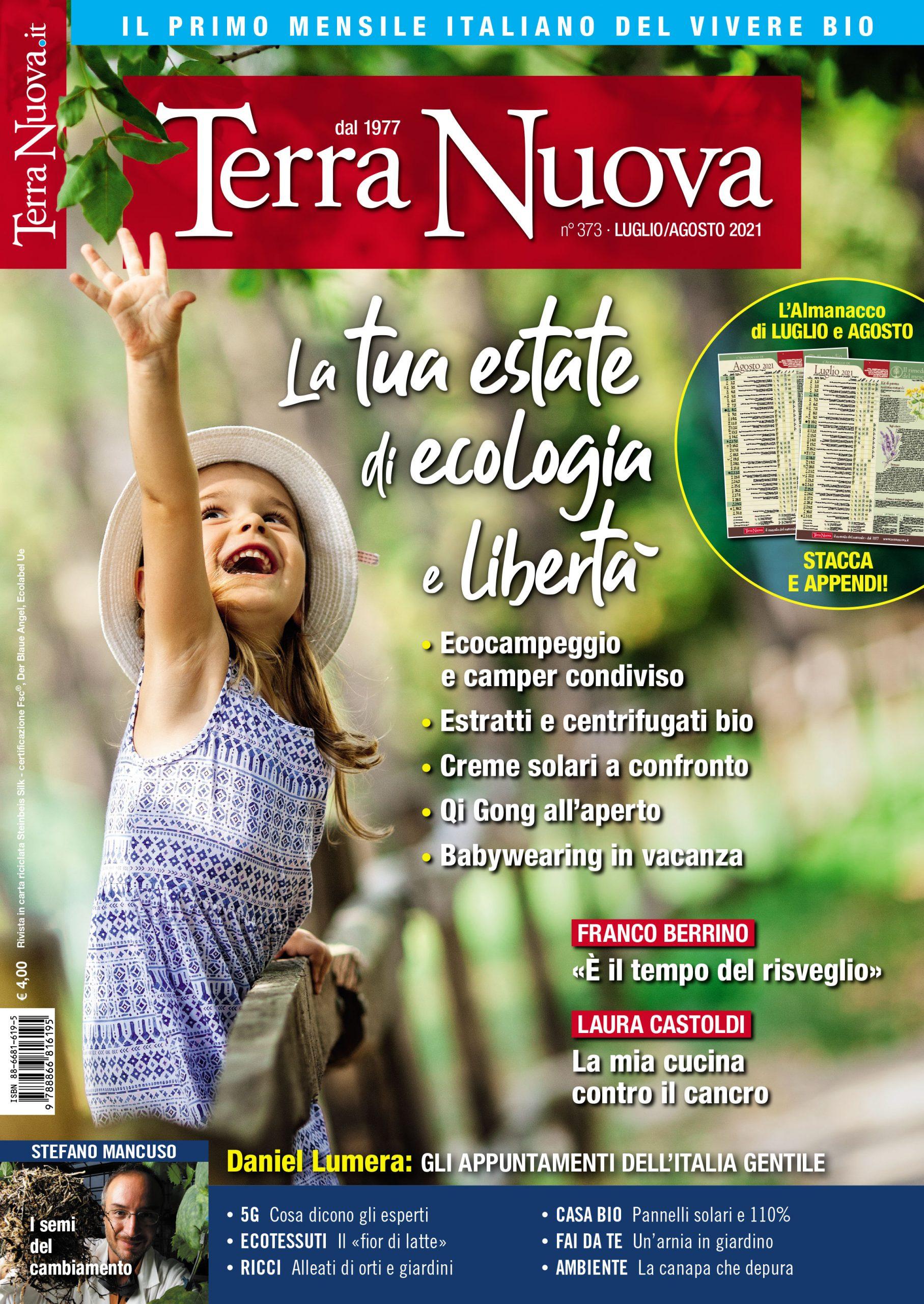 copertina Terra Nuova agosto 2021